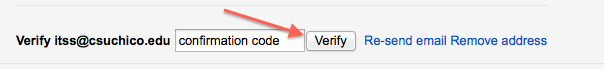 Verify with Code