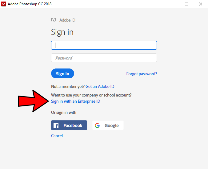 enterprise id sign in