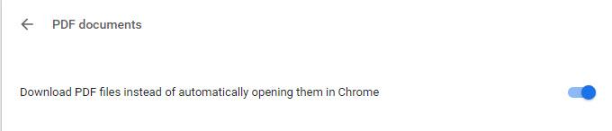 Screenshot of the Google Chrome Plug-ins menu.